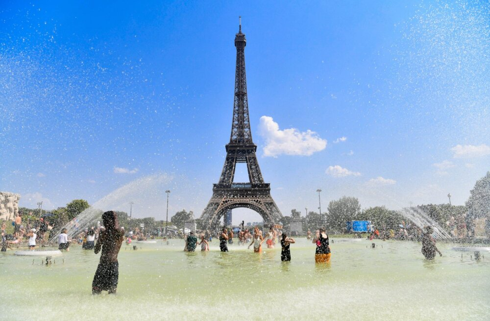 Из-за рекордной жары во Франции умерли 1500 человек