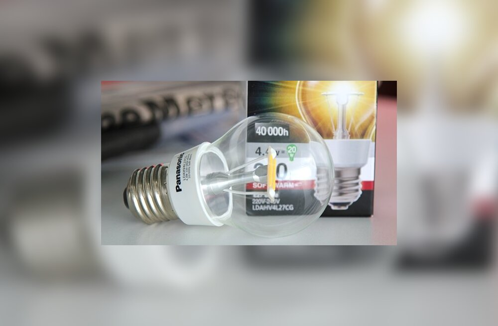 Panasonicu hõõglambi välimusega LED-pirnid: uurime lähemalt