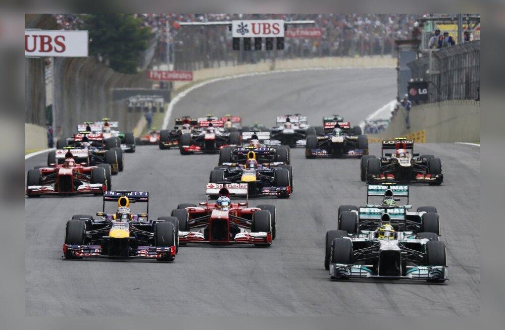 F1 hooaja eel: esitleme autosid, mis reastuvad starti 2014. aastal
