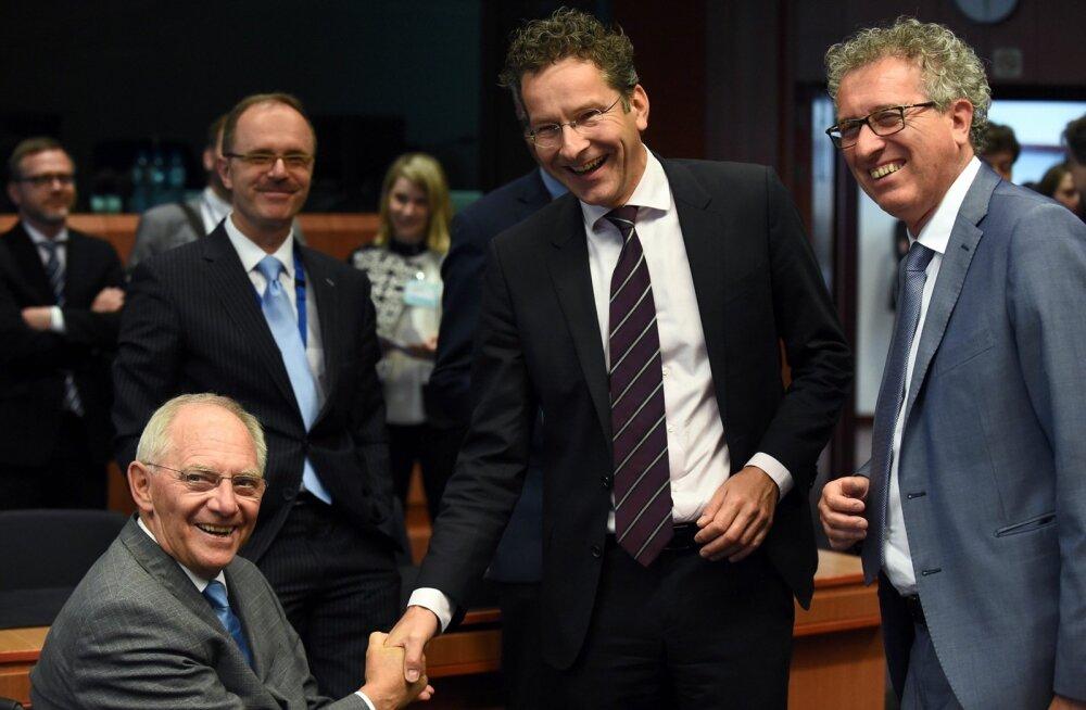 Euroala ministrid jõudsid kokkuleppele Kreekale uue päästeraha väljamaksmises