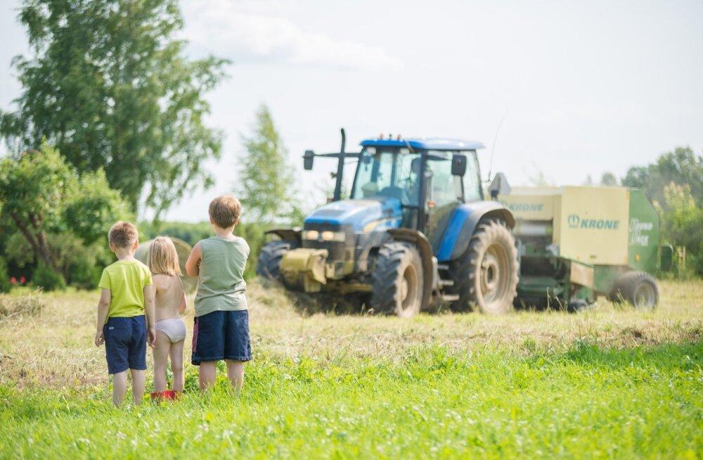 Lapsed tunnevad maatööde vastu suurt huvi, oleks ainult rohkem missioonitundega inimesi, kes õpetaks neile tõelist maaelu.