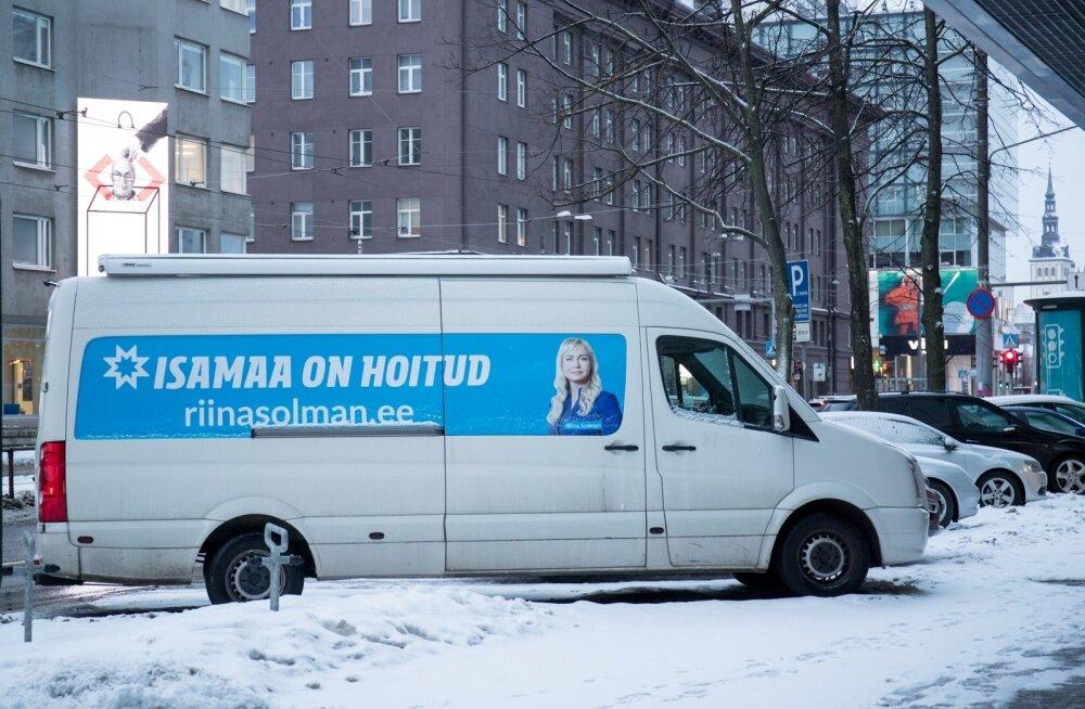 Riina Solmani valimisreklaam