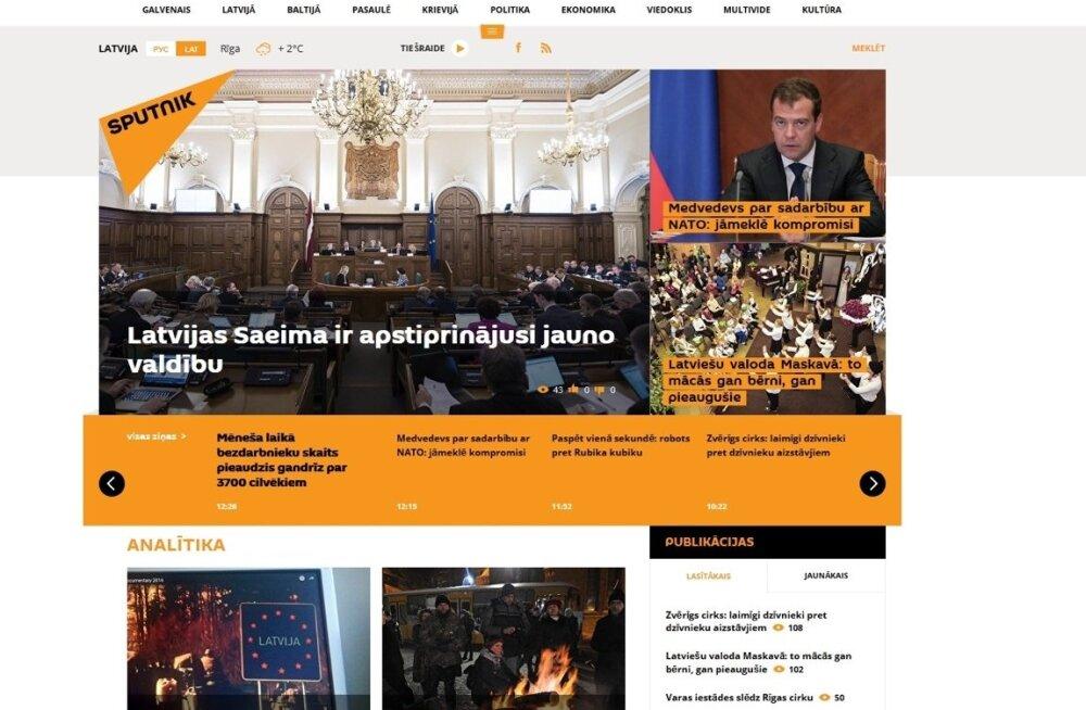 Lätikeelne Sputnik kolis pärast sulgemist uuele aadressile