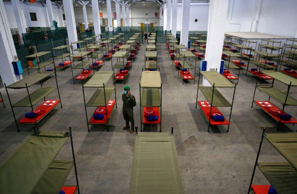 Hispaania möödus koroonaviirusesse surnute arvult Hiinast