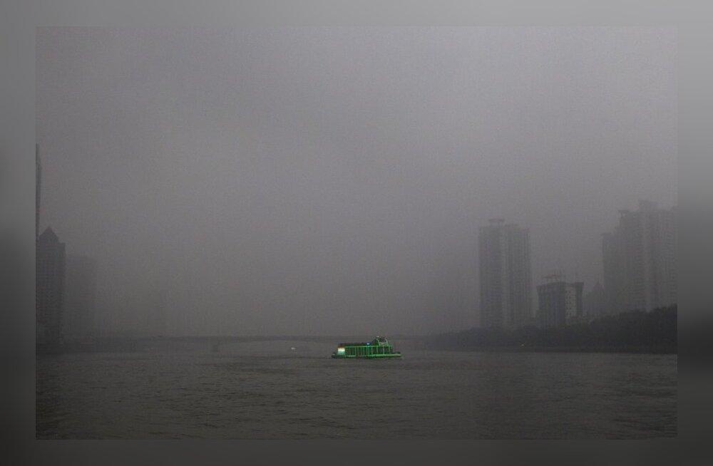 Hiina hakkab õhusaastega võitlema droonide abil