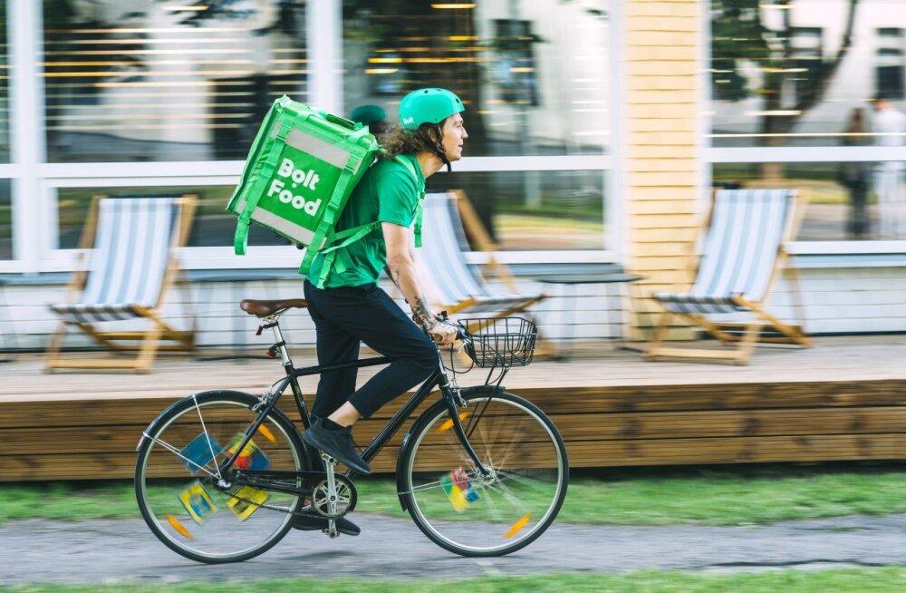 Bolt Food laieneb Tartusse, esialgu on toidu tellimine tasuta