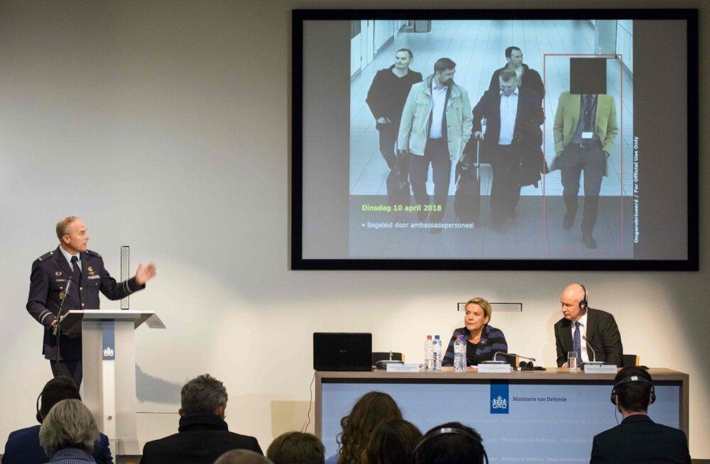 Hollandi ja Briti peaministrite ühisavaldus: GRU ei hooli rahvusvahelistest väärtustest ega õiguskorrast