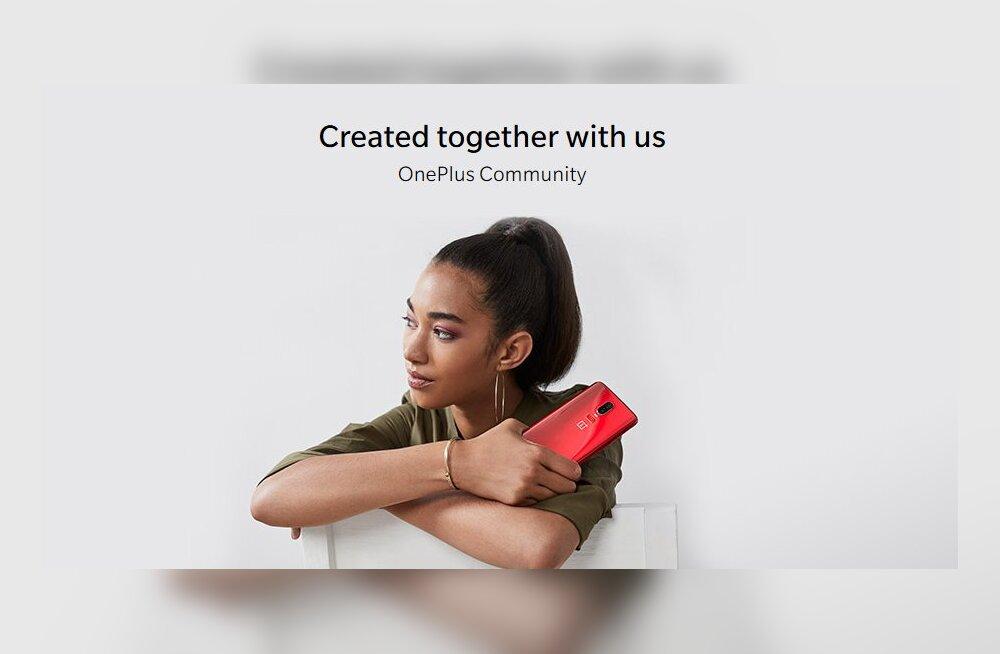 OnePlus on esimene tuntud tootja, kes julgeb sõrmejäljelugeja telefonis ekraani alla peita