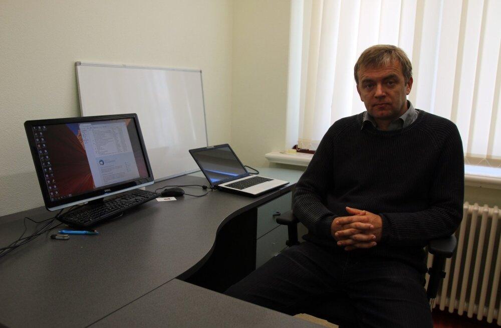 Portreepilt Alar Kilp, Tartu Ülikooli sotsiaal- ja haridusteaduskonna lektor
