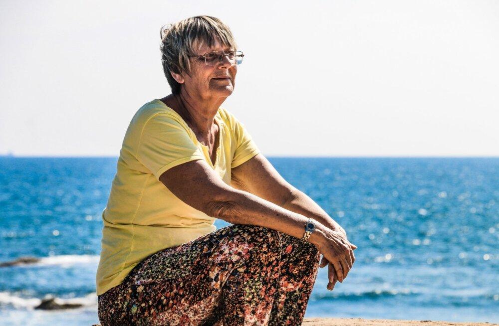 Pensionär Meeli: käisin kah reisimas, seekord ilusal Eestimaal