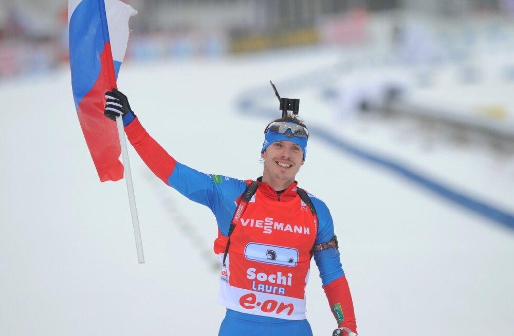 Jevgeni Ustjugov on IBU teatel patuste sportlaste seas.