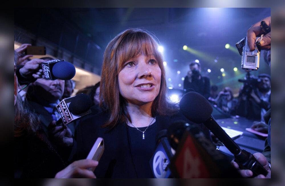 General Motorsi uue naisjuhi palganumbri ümber puhkes skandaal