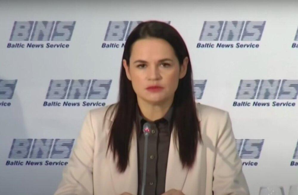 Тихановская подала иск о непризнании результатов выборов