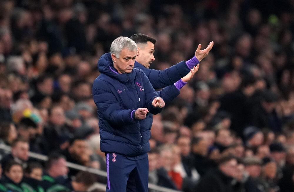 Raske võidu saanud Jose Mourinho: parem tiim kaotas