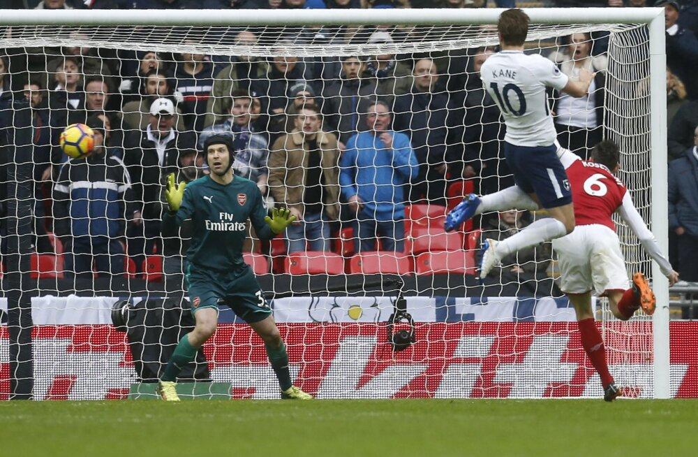 Harry Kane lööb Arsenalile värava