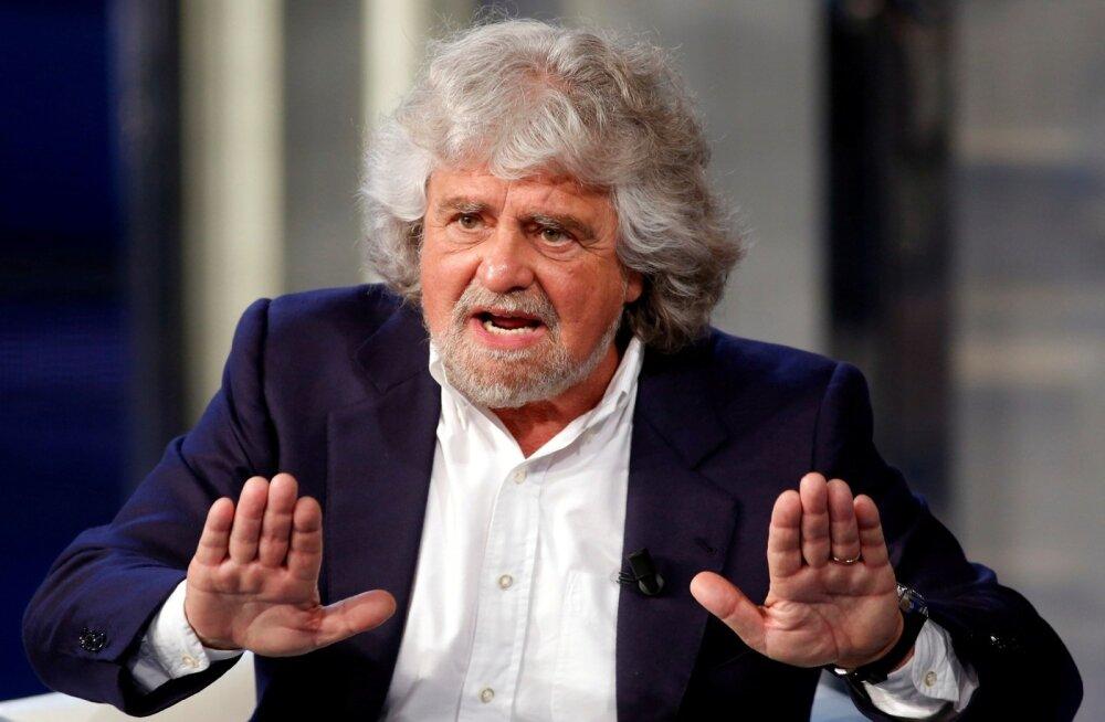 Itaalia euroskeptilise Viie Tähe liikumise asutaja tegi ettepaneku liituda europarlamendis liberaalidega