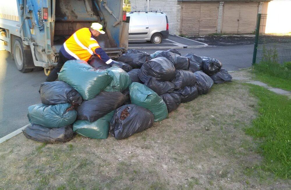 Жителям района Кристийне помогут справиться с осенней уборкой