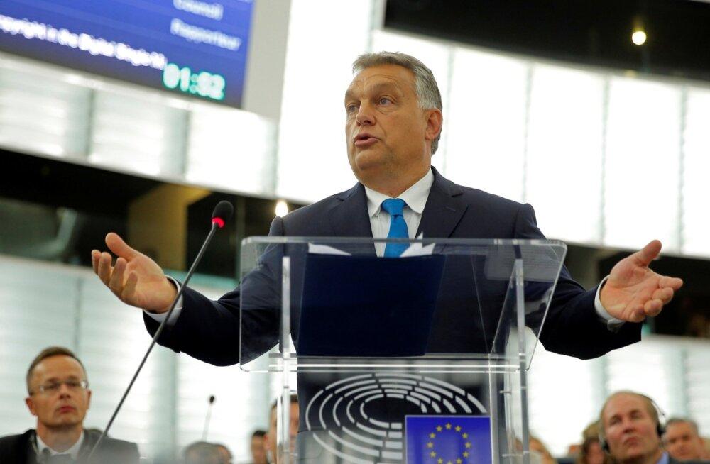 Euroopa Parlament toetas protseduuri algatamist Ungari vastu õigusriigi õõnestamise tõttu