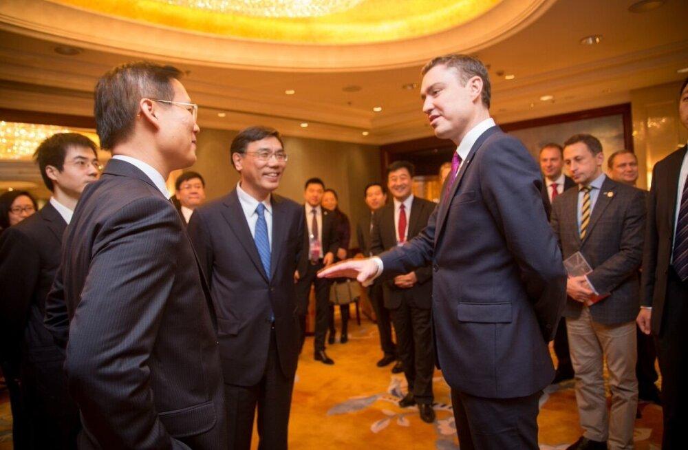 Taavi Rõivas 2015. aastal Hiinas