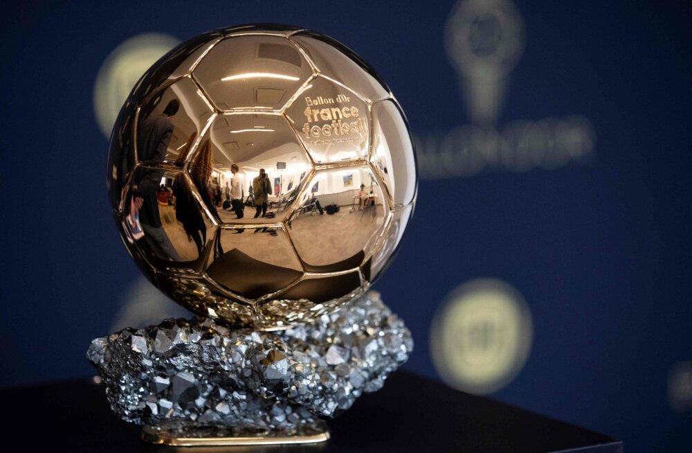 Võitja teada! Internetti lekkisid täna õhtul välja antava Ballon d'Or'i tulemused