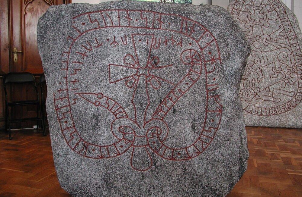 Sigrid laskis püstitada kivi Svenile, oma abikaasale. Ta purjetas tihti Zemgalesse kallihinnalise laevaga ümber Kolka neeme.