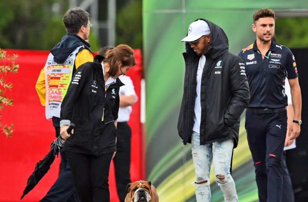 Vormelistaar Lewis Hamilton pani oma koera vegandieedile. Ekspert: see lõppeb kurvalt
