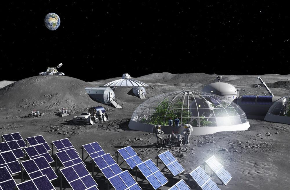 Euroopa kosmoseagentuur avas vabriku, mis teeb kuutolmust hapnikku