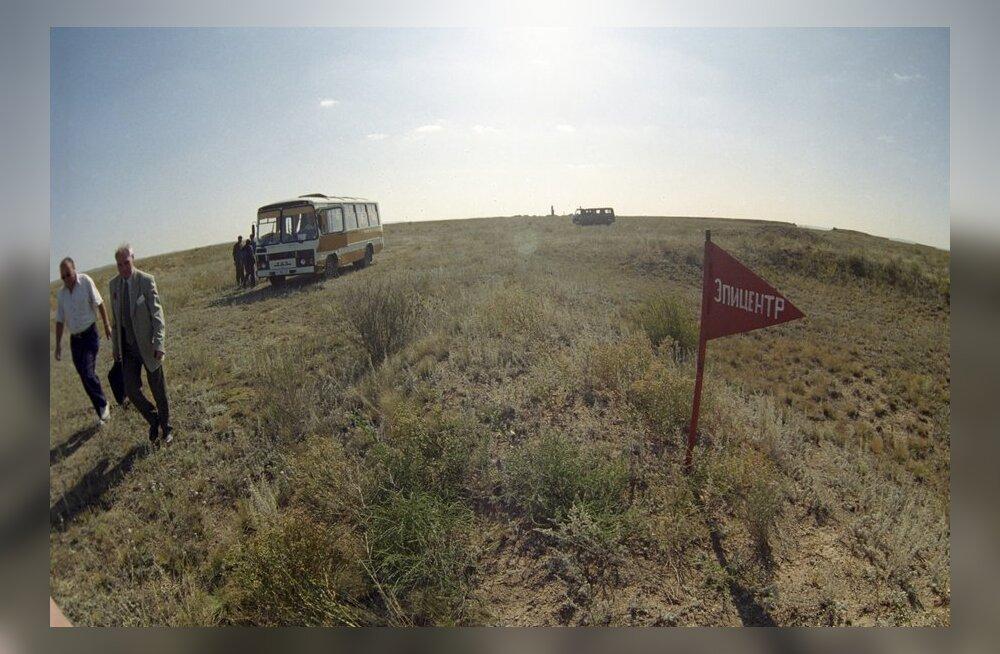 Kasahstanis loetakse üle tuumapolügooni tõttu kannatanud