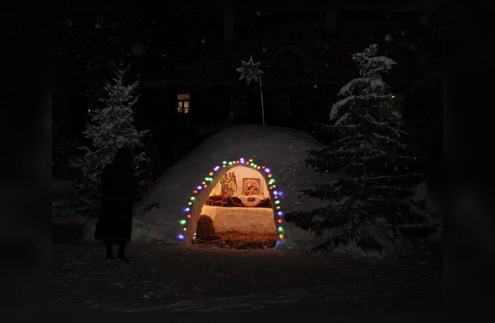 Õigeusu jõulud Pühtitsa nunnakloostris