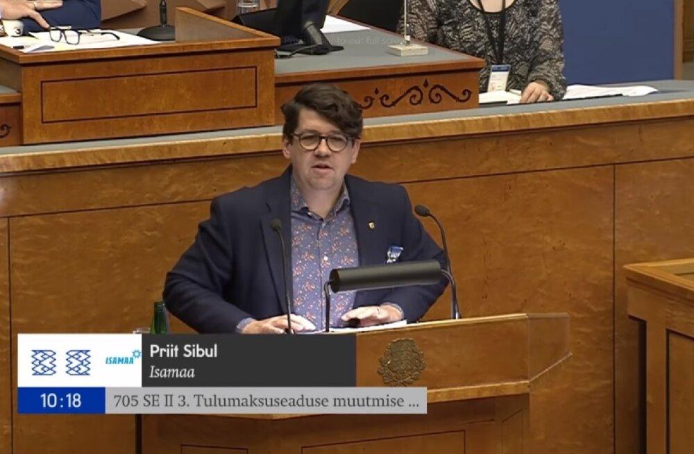 Priit Sibul riigikogus