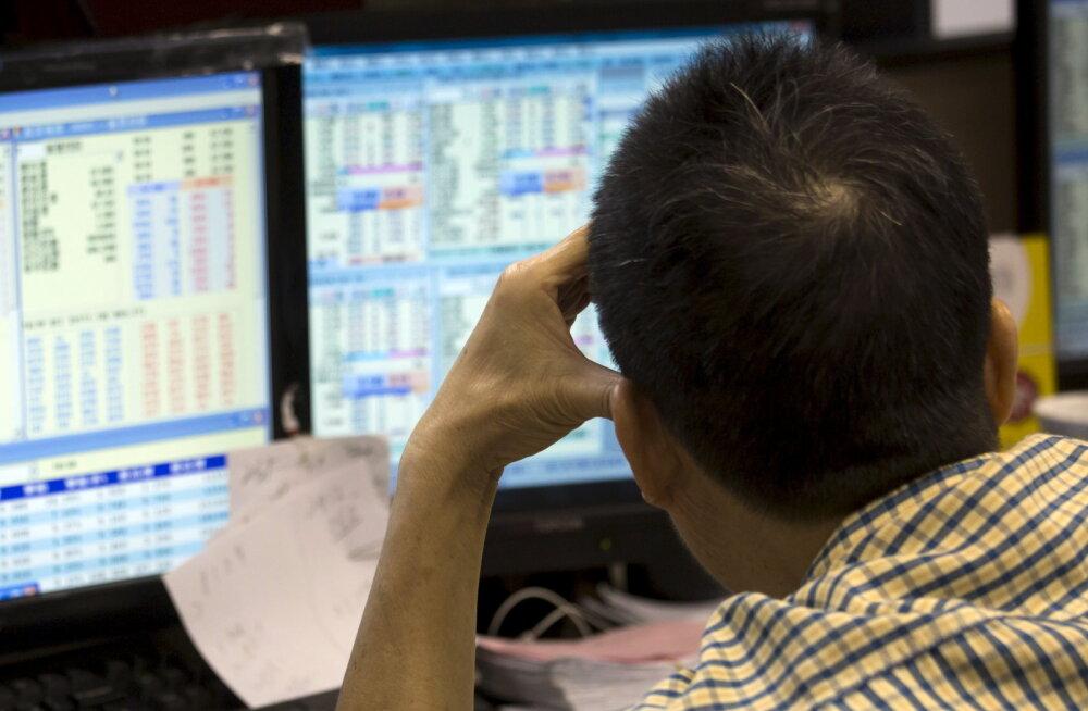 Hiina kohus trahvis turu kollapsis süüdistatud venelasi hiigelsummaga