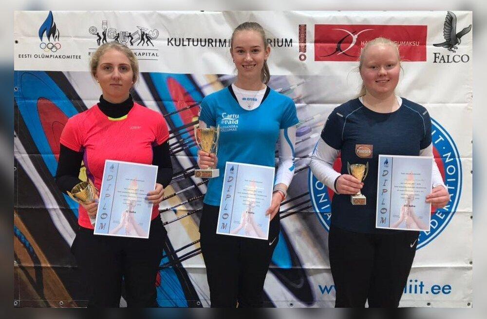 Noored võidutsesid täiskasvanute karikavõistlustel vibuspordis
