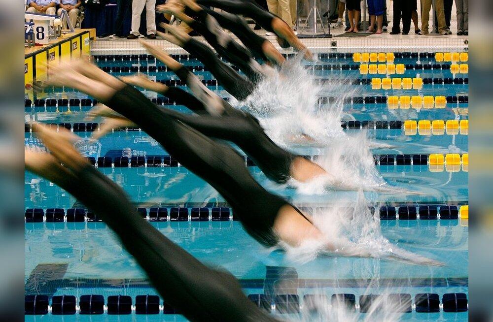 Eesti ujumiskoondise liikmed võistlesid edukalt USAs ja Sloveenias