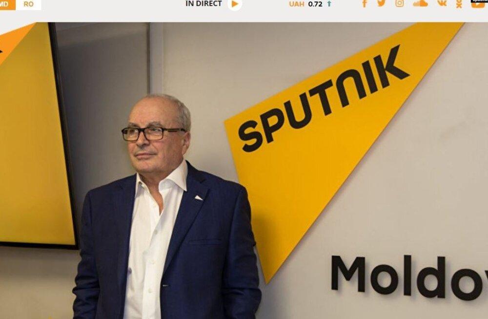 Vene propagandakanali Sputnik Moldova peatoimetaja vahistati miljardi dollari riisumises osalemises kahtlustatuna