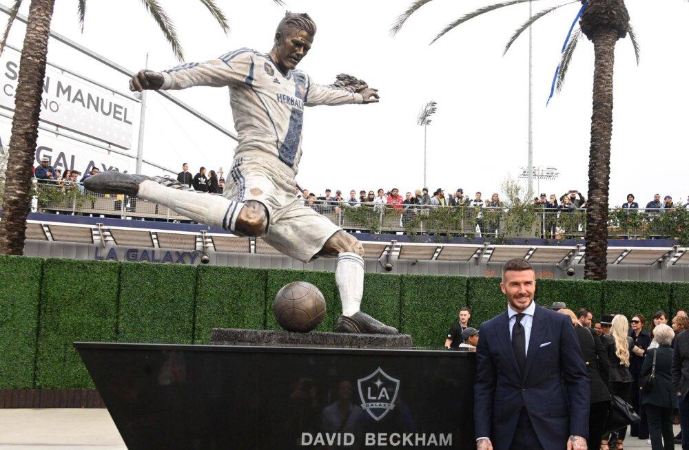 David Beckhami skulptuur