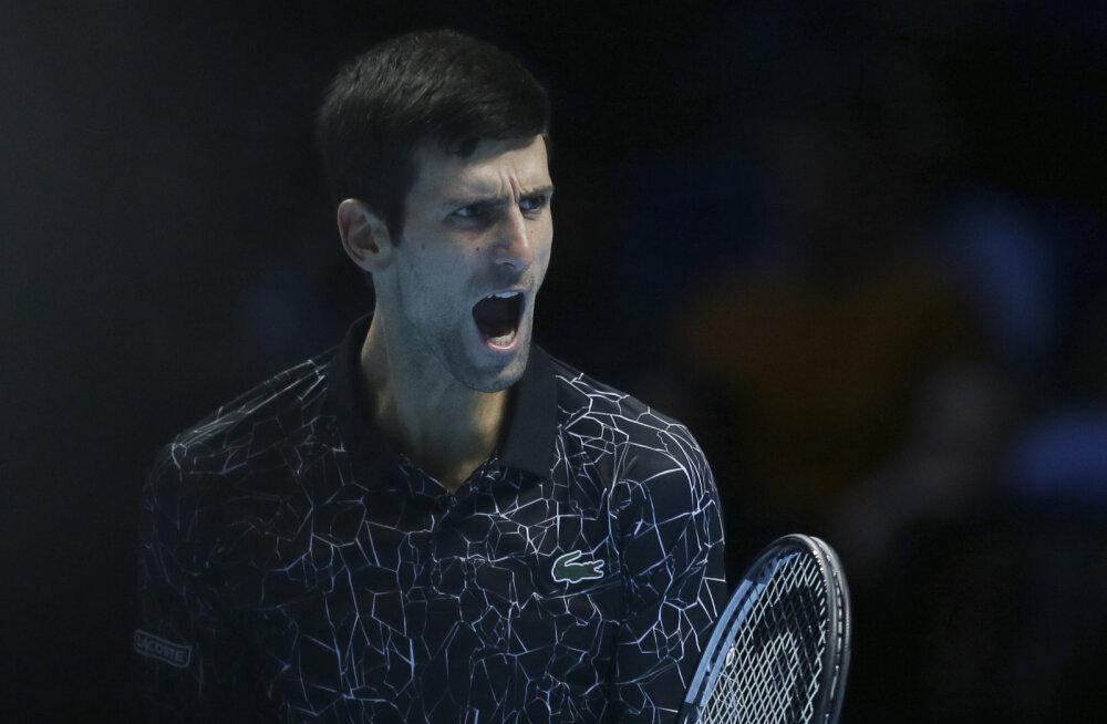 VIDEO | Djokovic jõudis settigi kaotamata aastalõputurniiri finaali