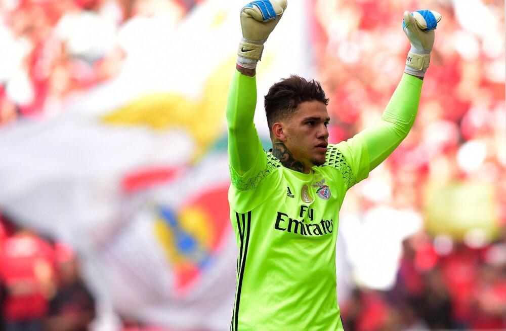 City käis Benfica mehe eest välja suurima summa, mis Inglismaal kunagi väravavahi eest makstud