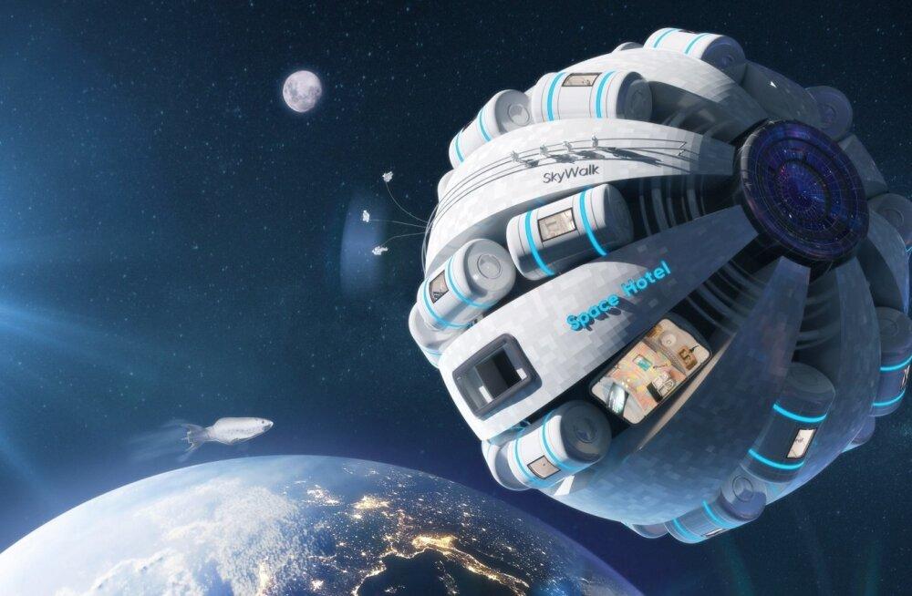 Selline kosmosehotell võib asjatundjate hinnangul reaaluseks saada juba 50 aasta pärast.