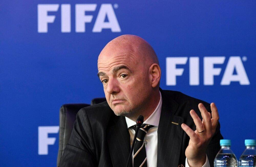 FIFA president Gianni Infantino teatas Bogotas, et MM-il näeme ka videokohtunikku.