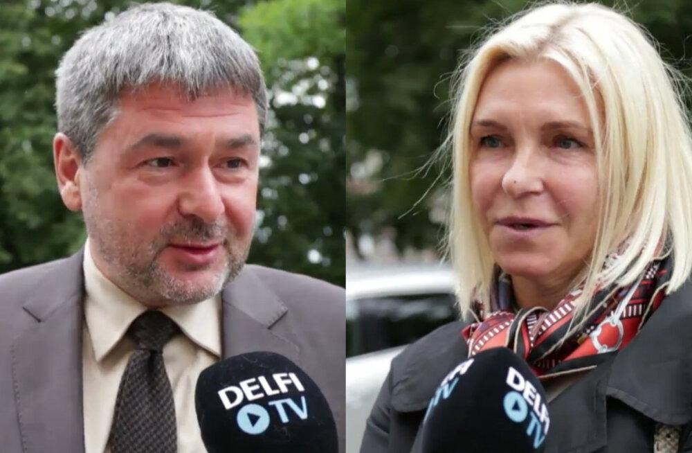 Oleg Ossinovski ja Tatjana Osinovskaja