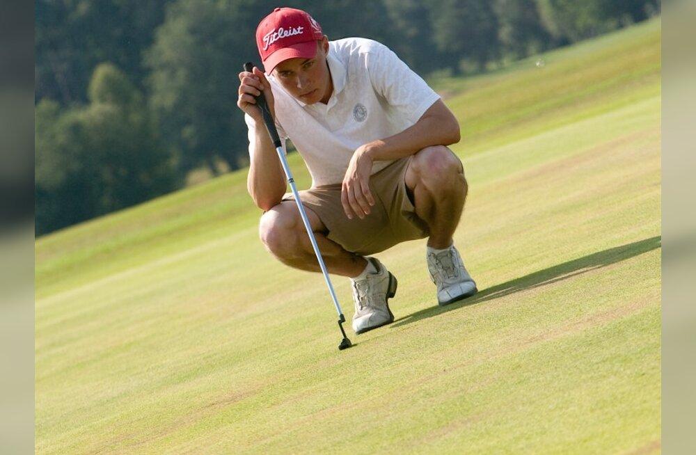 Niitvälja Karikavõistlused golfis võitis nagu mullu Egert Põldma
