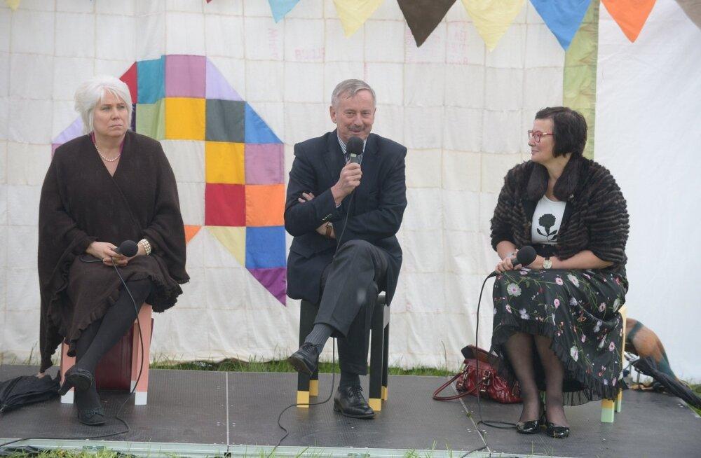 ФОТО: Кандидаты в президенты обсуждали дела Ида-Вирумаа на Фестивале мнений в Нарве