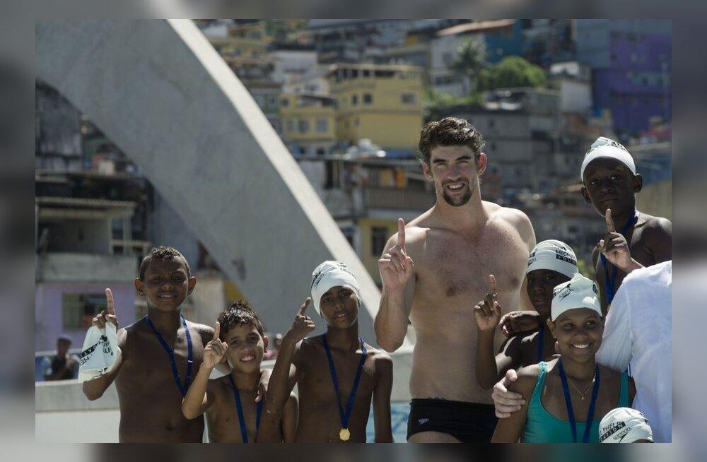 Phelps välistab Rio olümpial osalemise