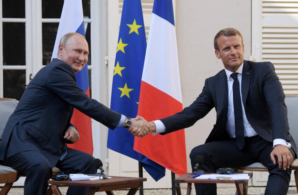 Сначала мир в Украине, остальное потом. Макрон назвал Путину условие возвращения в G8