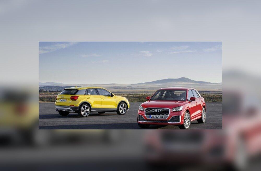 Beebibuum Genfis: Audi tõi seltskonda väikese linnamaasturi Q2