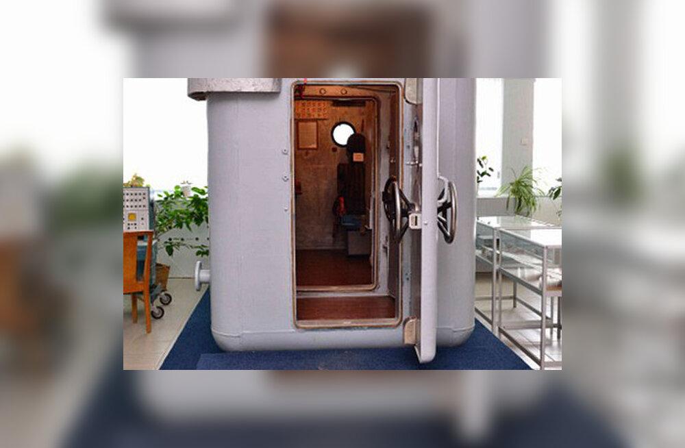 Moskvas varastati Nõukogude kosmonautide treenimiseks kasutatud barokamber
