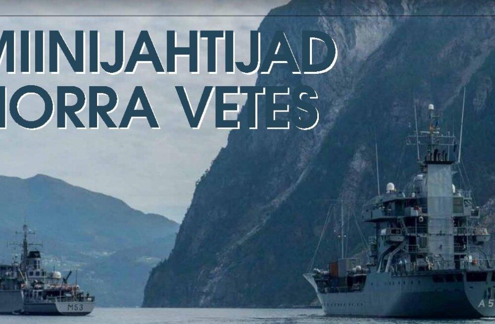 Miinijahtijad eestlase juhtimisel Norra vetes: merepõhjast leiti kaks laevavrakki ja liinibuss