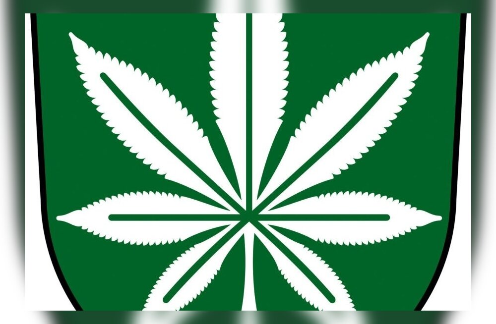 Kanepi vald tahab marihuaanasümboliga vappi