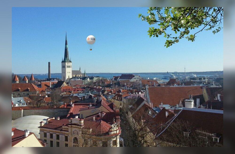 Uus turismiatraktsioon: Tallinna kohal hakkab lendama heeliumipall
