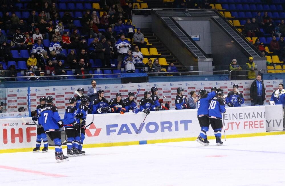 Eesti U20 jäähokikoondis sai maailmameistrivõistlustel viienda koha